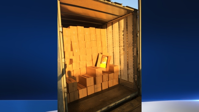 10,000 Pounds of Pot Found Hidden Behind Boxes of Barbie Toys
