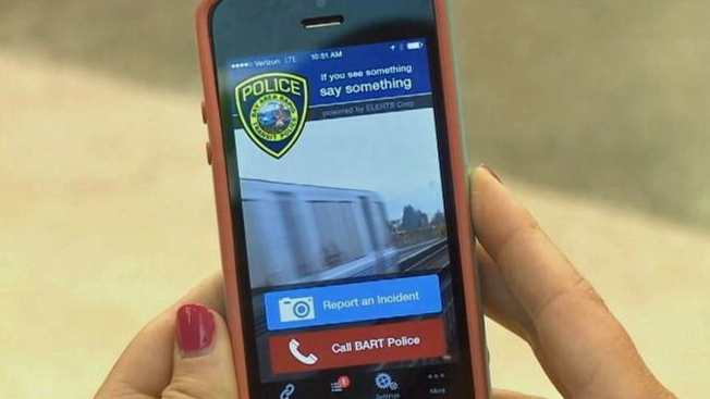 BART Unveils Smartphone App to Call Police