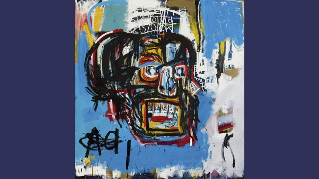 Basquiat Painting Fetches Record $110.5M at New York Auction