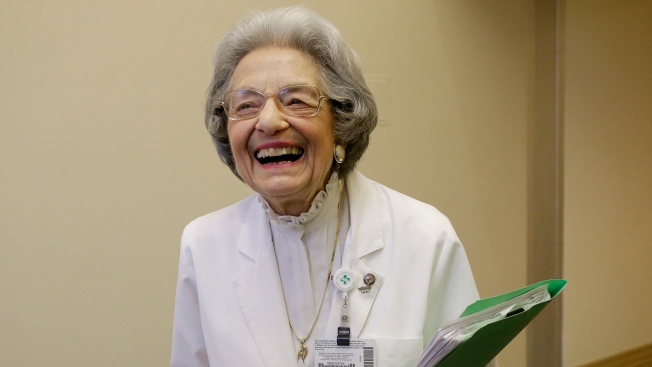 'I Can't Wait to Come to Work Every Day': Woman Celebrates 70 Years Working for Same Berkeley Hospital