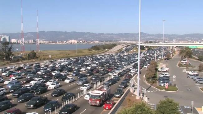 Police Activity on Bay Bridge Causes Traffic Backup: CHP