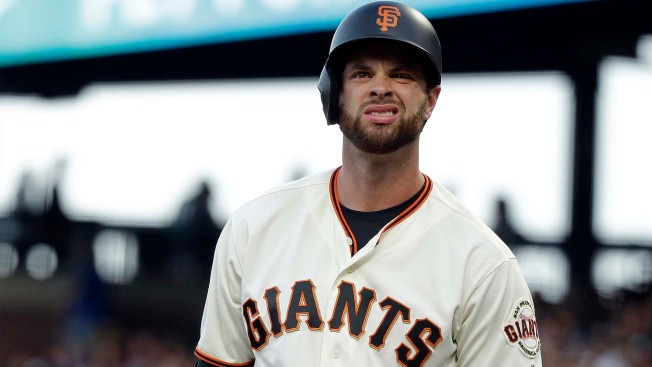 Brandon Belt Blasts Home Plate Umpire: 'You're Not Sure If It's on Purpose'