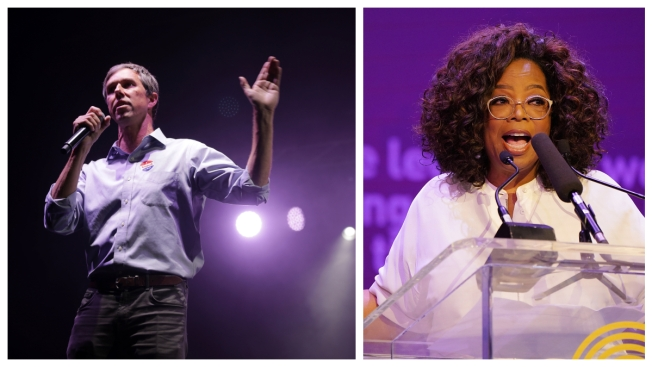 Oprah Offers Big Stage Tuesday for Beto O'Rourke's Reemergence