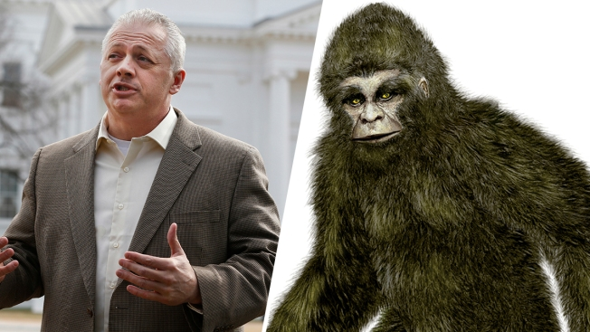 Bigfoot Lumbers Into Virginia Congressional Race