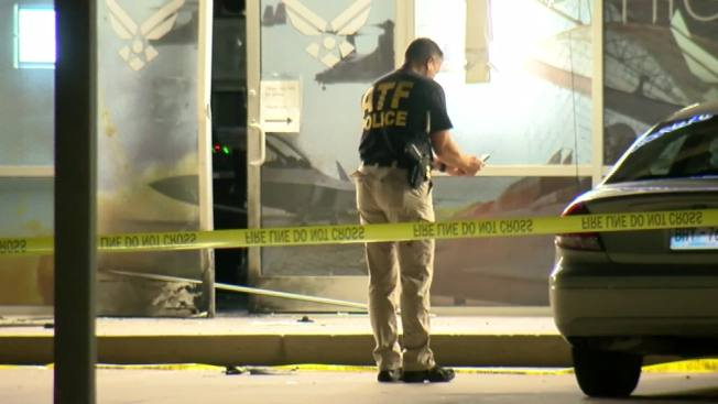 Man Arrested in Pipe Bomb Blast at Oklahoma Air Force Recruiting Center