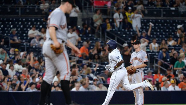 Giants Shut Out by Padres, Drop Series