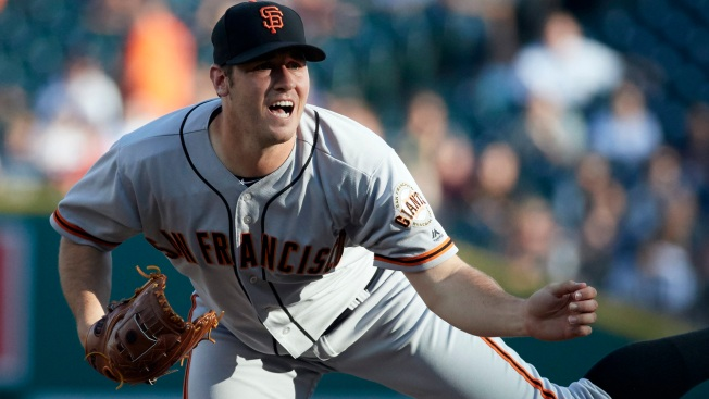 Blach Goes Six Innings, Giants Outlast Tigers in Detroit
