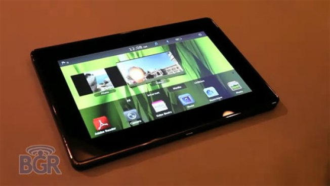 Ooh Lala, the BlackBerry PlayBook Has a Touchy Feely Bezel