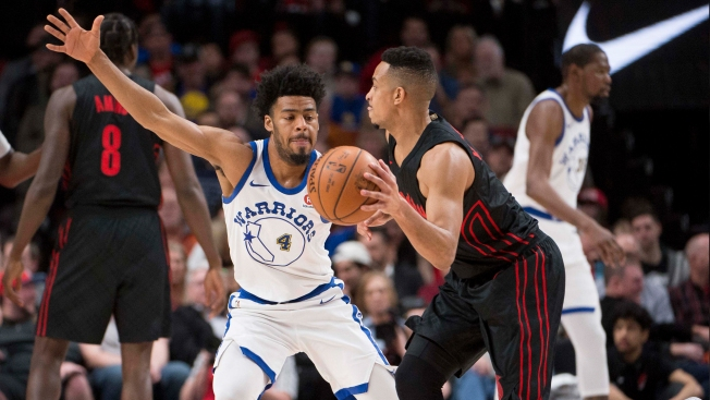 Shorthanded Warriors Bench Bullied by Blazers