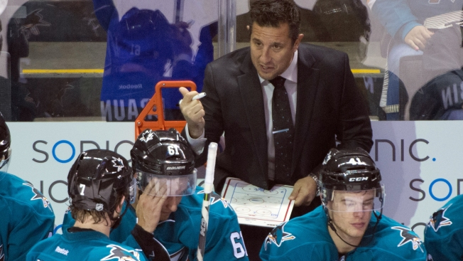 Report: Sharks Assistant Boughner a Candidate for Florida Vacancy