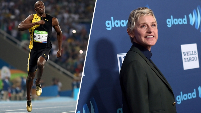 Ellen DeGeneres Under Fire for 'Racist' Usain Bolt Meme