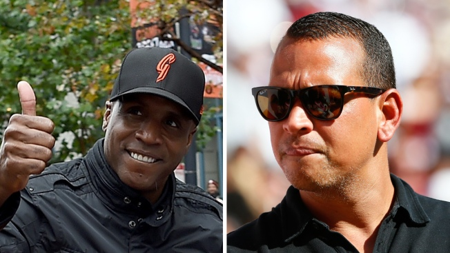 Alex Rodriguez Gets Hitting Tips From Barry Bonds
