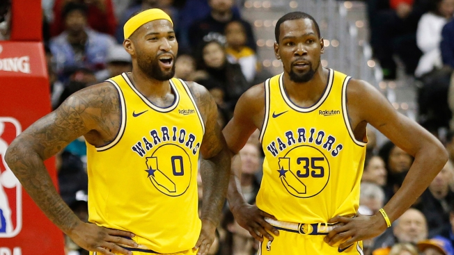 dabef4af33b3 DeMarcus Cousins Closer to Making Warriors Return Than Kevin Durant ...