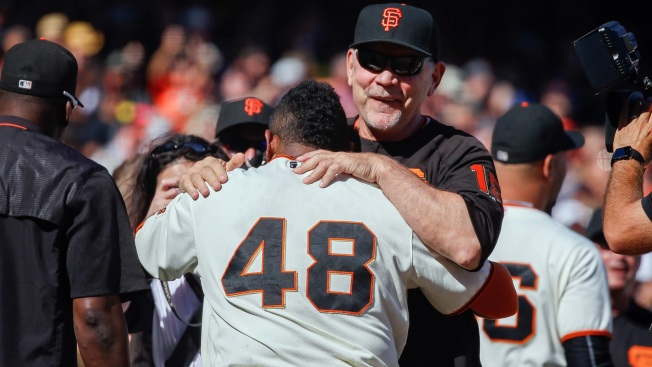 Matt Cain dominates in final career start