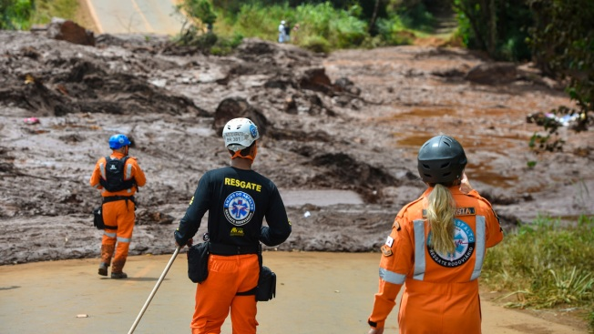 Search for Survivors, Despair in Brazil Amid Dam Collapse