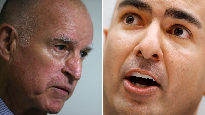 Gov. Jerry Brown, Neel Kashkari Prepare for Gubernatorial Debate