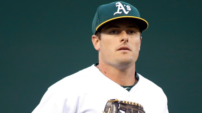 A's Trade Outfielder Jaycob Brugman to Orioles