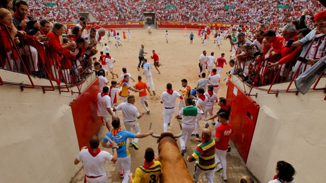 Pamplona Festival Ends With 3 Gorings in Final Bull Run