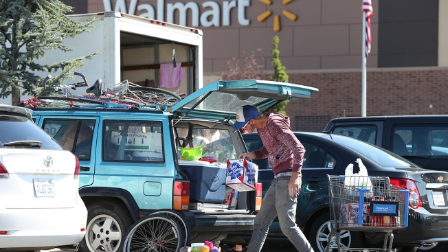 """Burners"" Shut Out of Burning Man Because of Rain, Make Way to Wal-Mart"