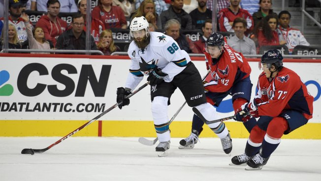 Jones has 24 saves to lead Sharks over Capitals 3-0