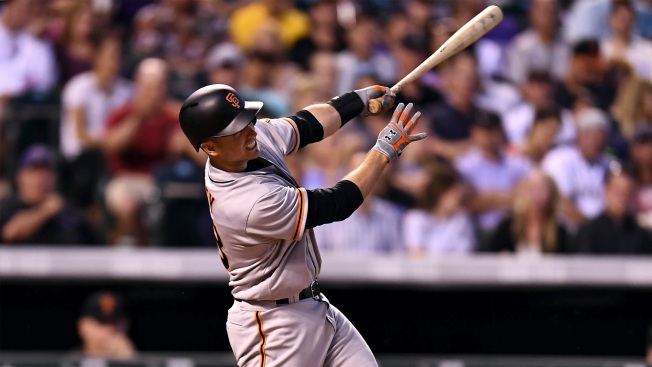 Posey, Nunez exit Giants game with injuries