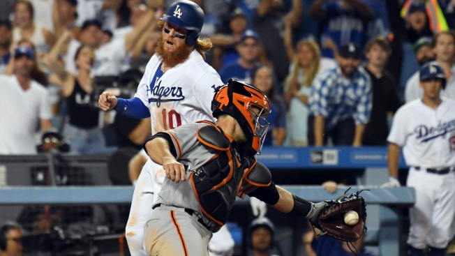 Series in Los Angeles Shows How Wide the Gap Is Between Giants, Dodgers