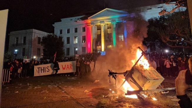 4 sue Berkeley, UC Berkeley over injuries at campus riot