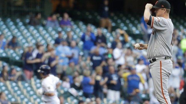 Watch this wild streaker interrupt an Major League Baseball game