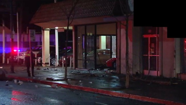 Driver Slams Into El Cerrito Businesses