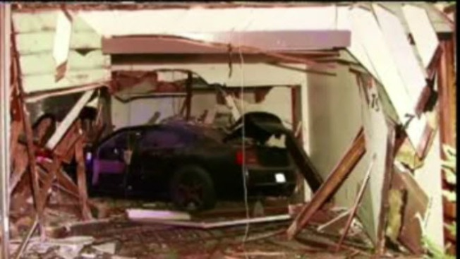 Drunk Driving Suspect Crashes into Hayward Home