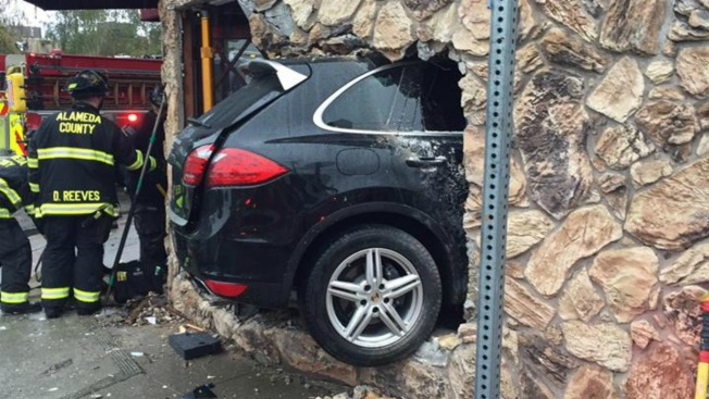 Driver Steals Car, Plows into Alameda County T-Shirt Store