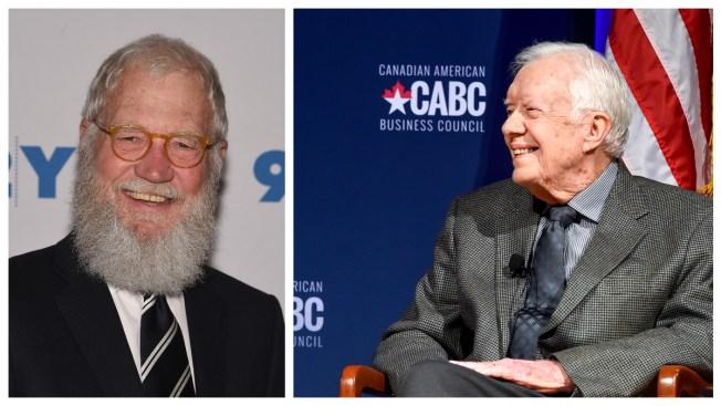 David Letterman, Jimmy Carter Launch Habitat Project