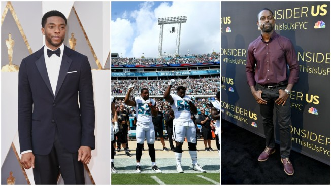Chadwick Boseman, Sterling K. Brown Support NFL Players Protest