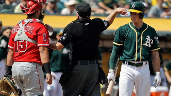 More Sign Stealing? Chapman Ejected as Tensions Rise Between A's, Angels