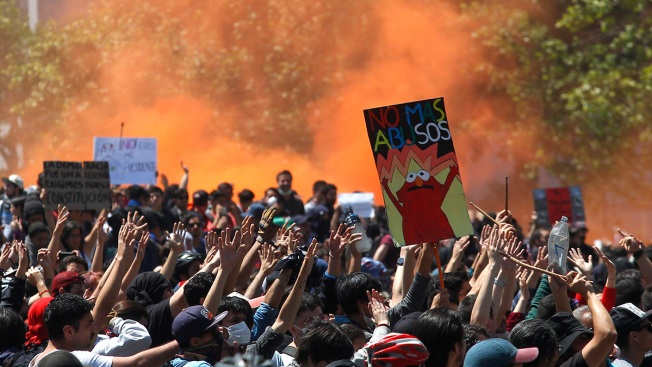'We Are at War': Violent Protests in Chile Leave at Least 11 Dead