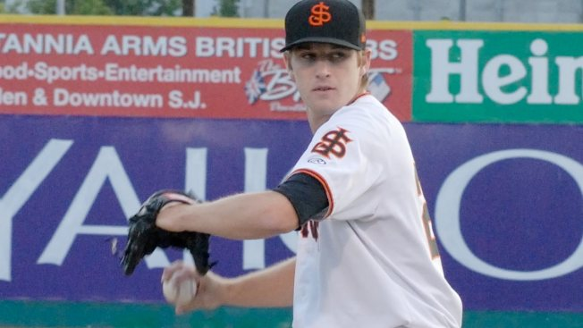 Chris Stratton Hopes to Follow in Footsteps of San Francisco Giants Pitchers Drafted in First Round