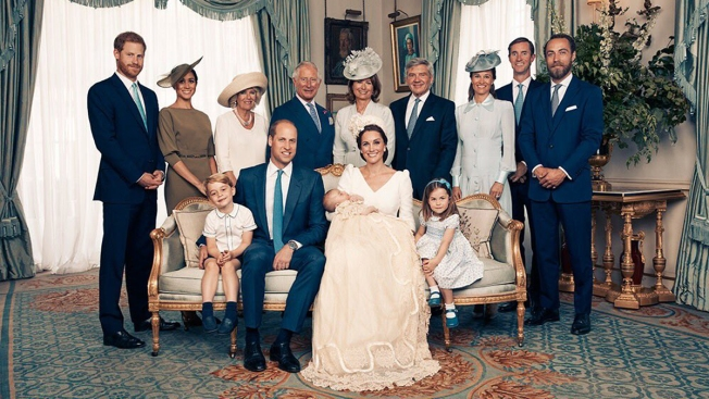 [NATL] Royal Family Photos: Official Photos Released From Prince Louis' Christening