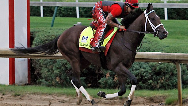 Always Dreaming is 'eager to run' a week before Preakness