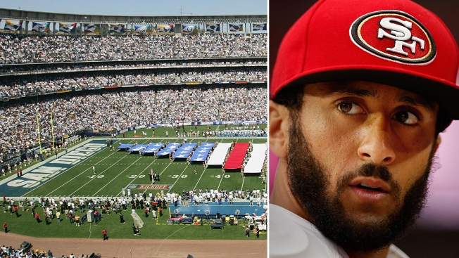 49ers QB Colin Kaepernick to Play in Military-Friendly San Diego Against Chargers