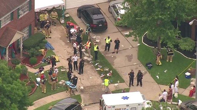 Dozens of People Hurt in Texas Floor Collapse