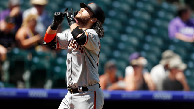 Giants' Offense Posts Historic Numbers to Start Doubleheader Vs. Rockies