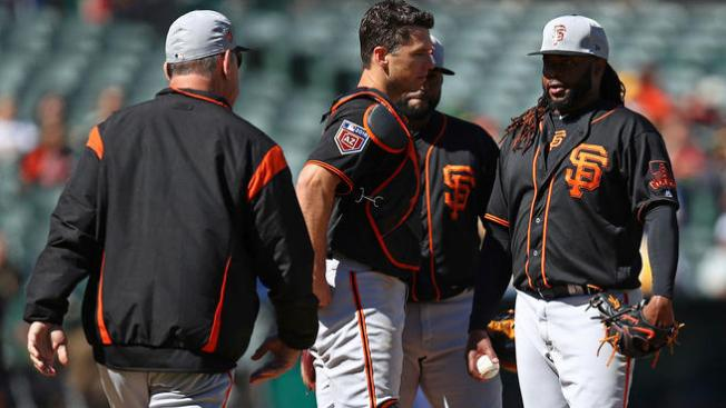 When Giants Needed It Most, Johnny Cueto Dominates A's in Final Tuneup