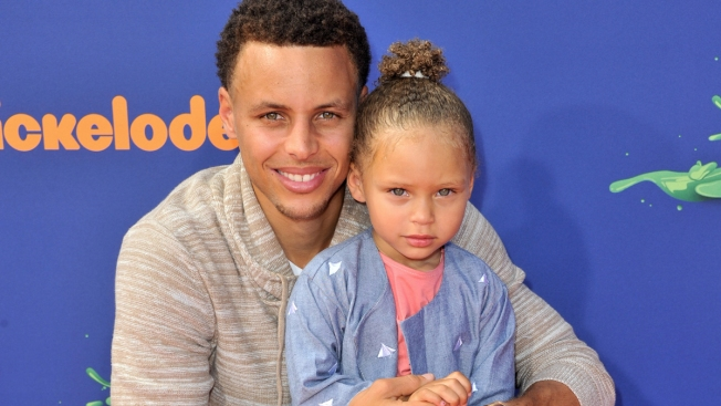 Young Suitor Asks Steph Curry For Riley's Hand on Valentine's Day