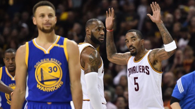 Cleveland Cavaliers vs. Golden State Warriors 2017