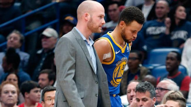 Stephen Curry (ankle) ruled out against Hornets