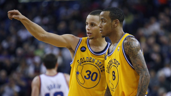 7dcd57dba Monta Ellis Sends Love to Steph Curry for Rocking Jersey to Oracle Finale
