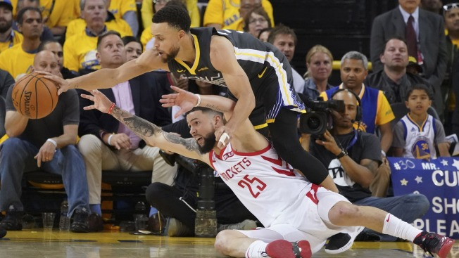 fa3c9abbf6d Twitter Reacts to Warriors  Stunning Game 6 Win to Eliminate Rockets ...