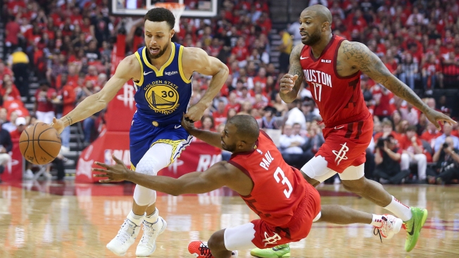 Chris Paul Kicked Steph Curry Off Court Night Before Game 6 Showdown