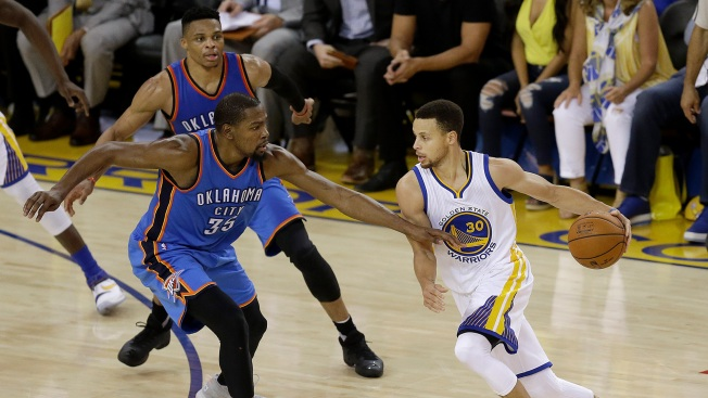 Kevin Durant Says Steph Curry Is Better Player Than Russell Westbrook