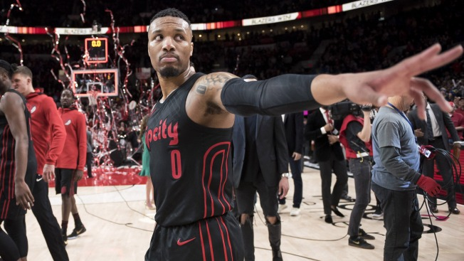 Blazers' Damian Lillard Believes Warriors Are 'due' for Playoff Defeat